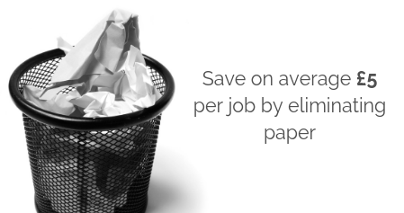 MyMobileWorkers eliminate paper