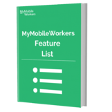 MyMobileWorkers features list